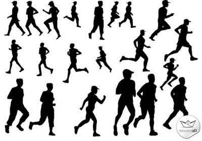 vectors - people runners