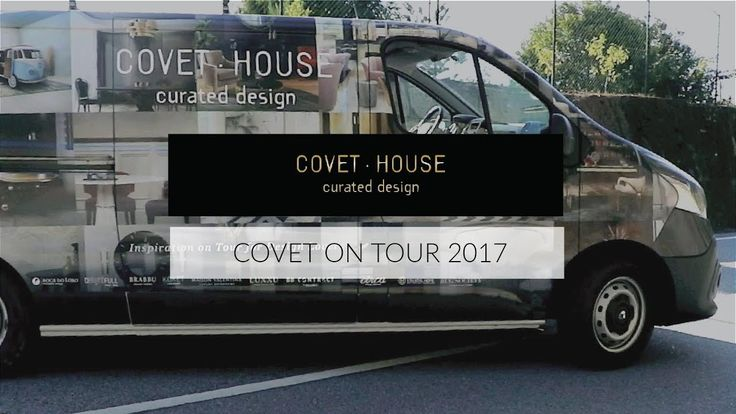 Covet on tour van has a brand new exterior appeal with iconic and recent furniture design pieces from covet house brands: Boca do Lobo, Delightfull, Brabbu, Koket, Maison Valentina, Circu, Luxxu, Essential Home, Brabbu contract and Rug'Society. One of the van's side is covered with the latest luxury inspiring ambiences.   #homestyle #homeinspo #luxurybrand #luxuryhomes