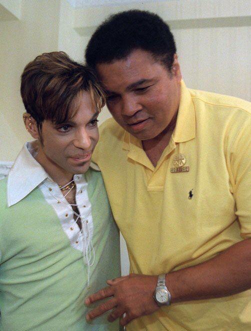 #Prince and #MuhammadAli