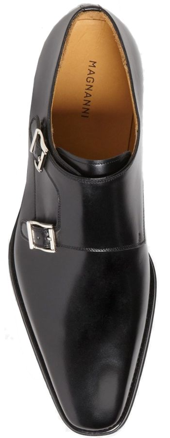 Magnanni 'Miro' Double Monk Strap Shoe (Men)