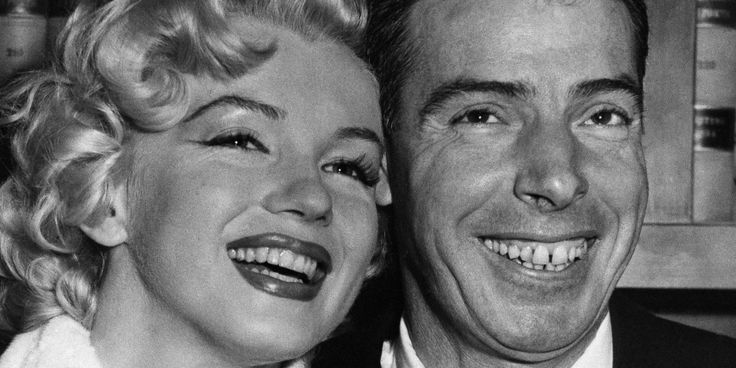 Sixty years ago today -- on January 14, 1954 -- the up-and-coming silver screen siren Marilyn Monroe married New York Yankees ballplayer Joe DiMaggio in San Francisco. Description from pinterest.com. I searched for this on bing.com/images