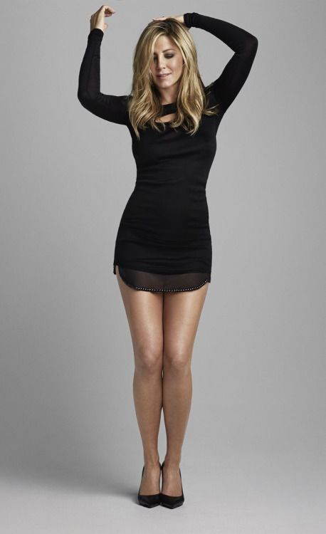 Cute black dress. Would definitely wear this if it was a tad longer.