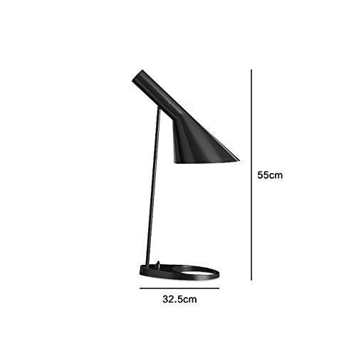 Scandinavian modern minimalist American lamp den living room bedroom table lamp modern bedside lampB