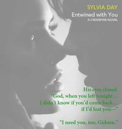 89 best books images on pinterest crossfire series gideon cross entwined with you by sylvia day fandeluxe Image collections