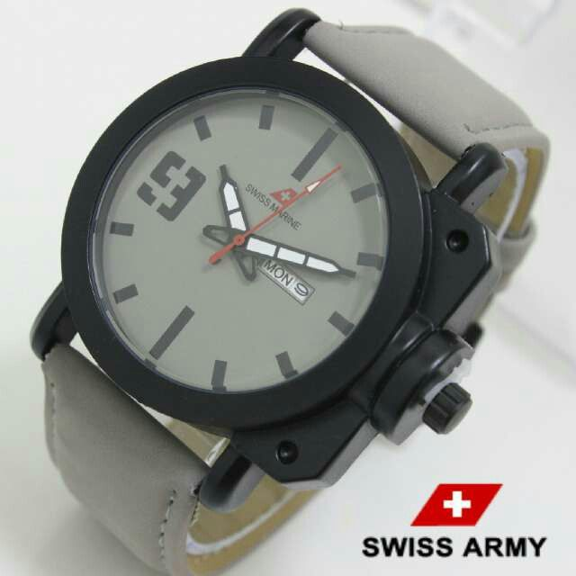 Jam tangan pria SWISS ARMY  Harga 110.000 +ongkir