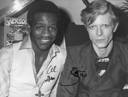 Al Green and David Bowie...