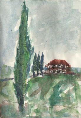 LUIS DESENHA: Falar através das árvores, a hospitalidade, 3 cipr...