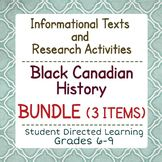 Canadian Black History Bundle of 3 Resources