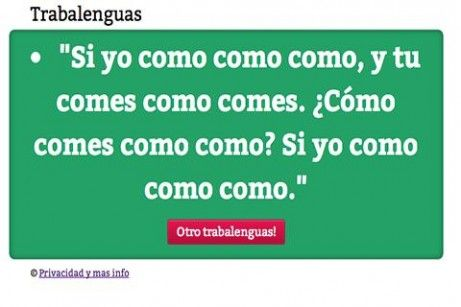 trabalenguas en español dificiles - Buscar con Google