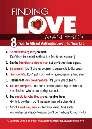 Finding Love with the MANifesto!