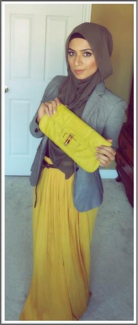 office style hijab