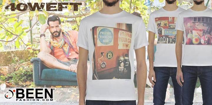 Una t-shirt #40WEFT per il tuo stile alla moda…Solo su #BeenFashion http://www.beenfashion.com/it/t-shirt-con-stampa-100-cotone-20248.html?utm_source=pinterest.com&utm_medium=post&utm_content=40weft-t-shirt-stampata&utm_campaign=post-prodotto