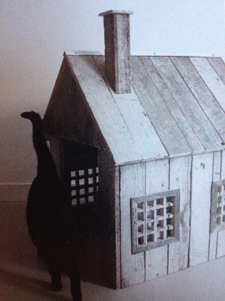 Huisje voor de kattenbak