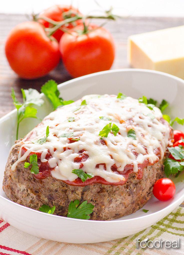 Crockpot Italian zucchini meatloaf recipe | Healthy Seasonal Recipes - gluten-free, low carb and grain free.