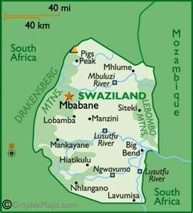 Swaziland! For Tandzi!!!