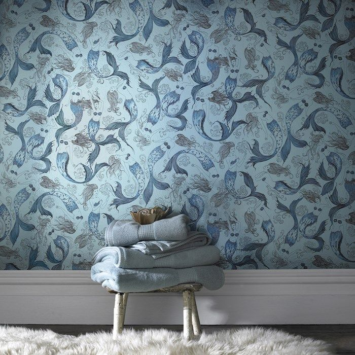 Mermaid Wallpaper - Mermaids Wall Decor by Graham  Brown