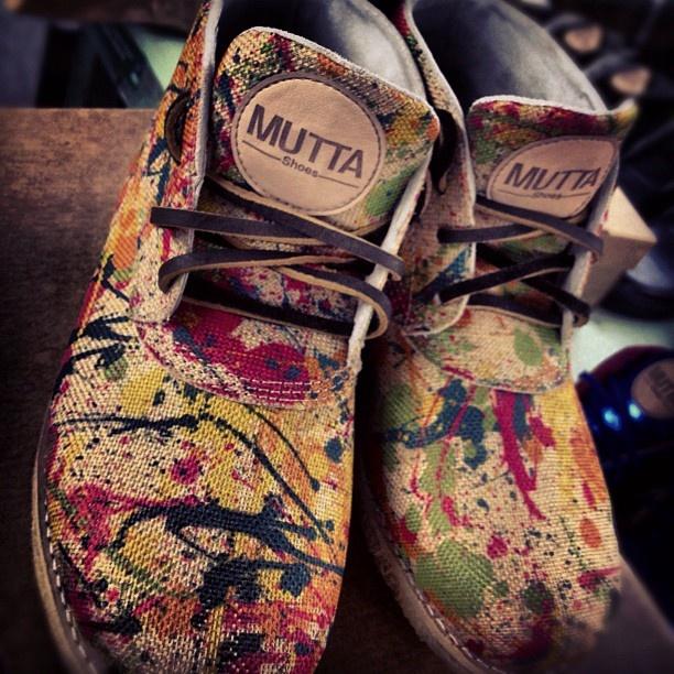 Mutta Drucker Ink Custom - Winter 2012 from Mutta Shoes  Brazil  - I love it!!!  http://store.muttashoes.com.br/