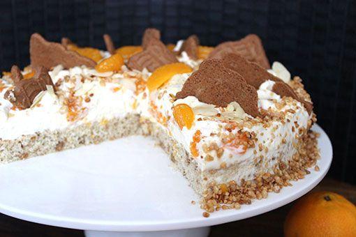 Mandarinen-Spekulatius-Torte