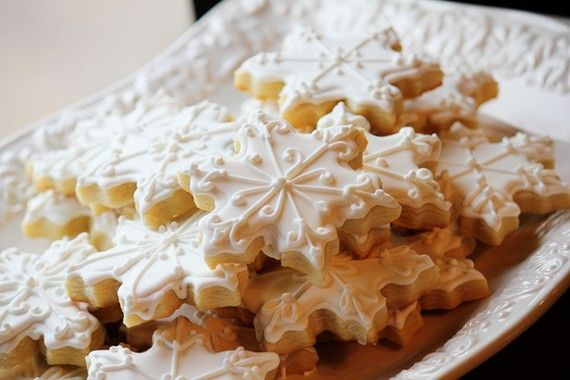 Elegant Snowflake Sugar CookiesHomemade Christmas, Christmas Ideas, Christmas Gift, Merry Christmas