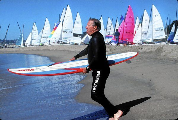 Hobie Alter, developed the mass-produced foam surfboard in 1958, dies at 80.