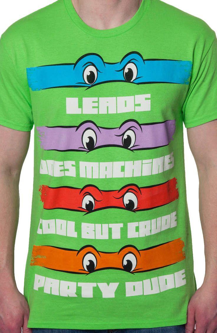 Ninja Turtle Theme Song TMNT Men's T-Shirt