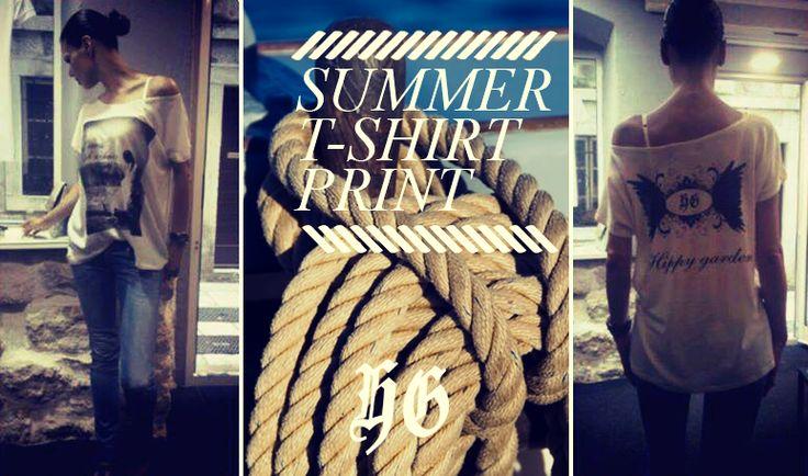 Summer T-shirt print, shoponline, #fashion #summer #croatia #mode #moda #tshirt #print #design #tshirtprint #hippygarden #shoponline #beach #beachwear #womenfashion #moda #Weise #stile #camisa #skjorte #overhemd #Hemd #koszula #gomlek #editorial #campaigns #photography