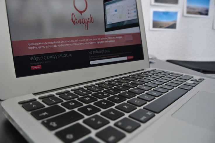 PinAJob web app.. Under construction at the moment at pinajob.com