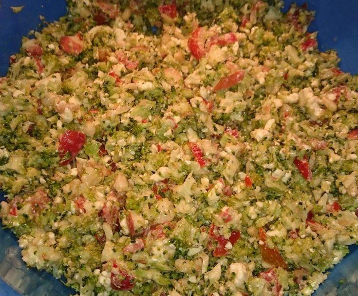 Rezept Griechischer Broccolisalat von verahoch82 - Rezept der Kategorie Vorspeisen/Salate