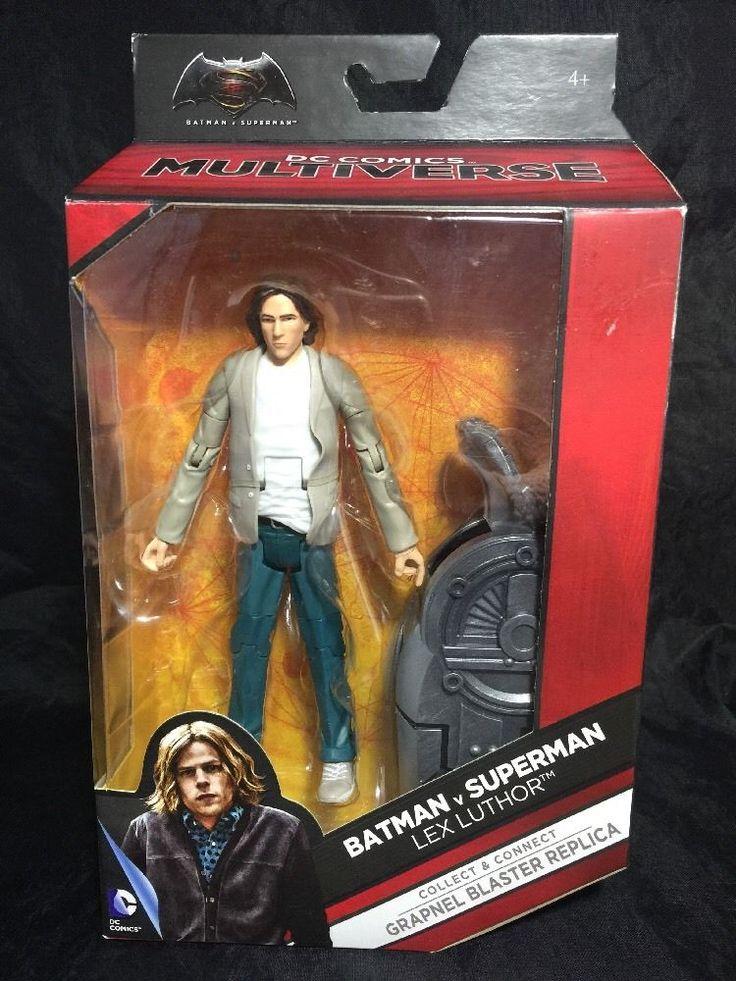 "Mattel Best Batman v Superman: Dawn of Justice Multiverse 6"" Lex Luthor Figure  | eBay"