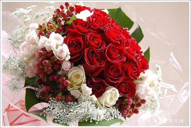 赤いバラの花束 / Red Rose Bouquet for propose