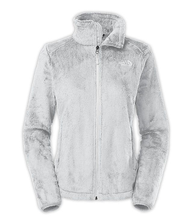 Women's Osito 2 Jacket in High Rise Grey ? TNF White, size Medium | $99