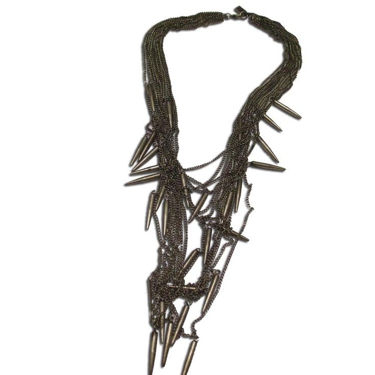 NU Chain Drop Necklace
