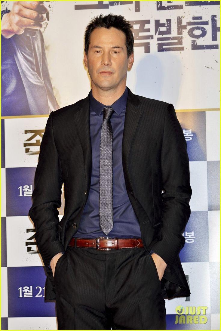 2015 January 10th: Keanu Reeves Takes 'John Wick' to South Korea for ...