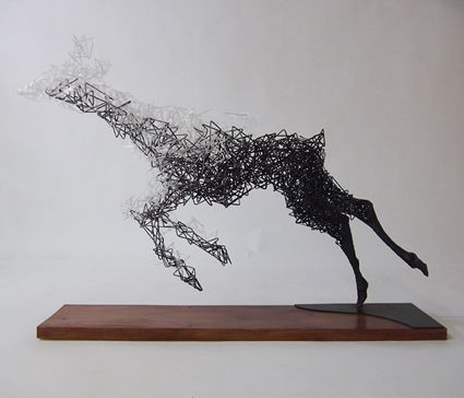 Tochigi, Japan artist Tomohiro Inaba. #art #sculpture