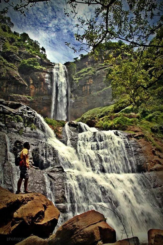 Cimarinjung waterfall.indonesia west java sukabumi