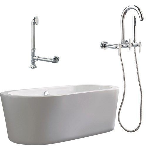 freestanding tub wall mount faucet. Giagni LV1 PC Ventura 67  White Apron Tub with Drain and Lever Handles Wall 360 best Free Standing Clawfoot Tubs images on Pinterest
