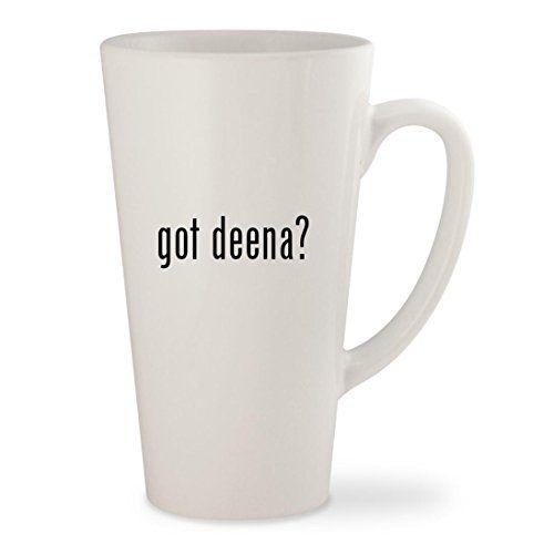 Deena Ozzy Bags. got deena? - White 17oz Ceramic Latte Mug Cup.  #deena #ozzy #bags #deenaozzy #ozzybags