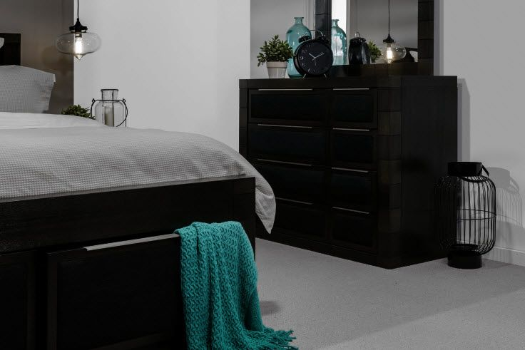 Boutique 5 Piece Dresser Queen Bedroom Suite | Super Amart