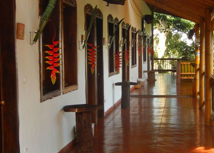 La Hacienda Combia, en Calarcá (Quindío), cuenta con 34 habitaciones. Foto: Juan Uribe
