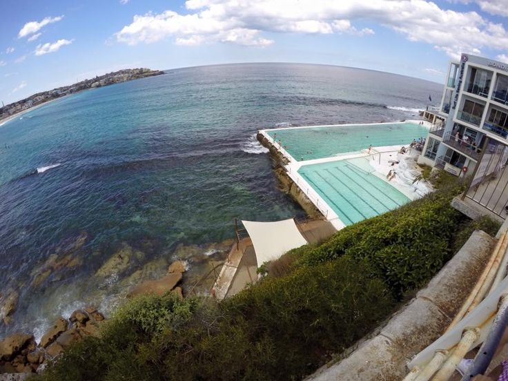 Bondi beach - cool public pool