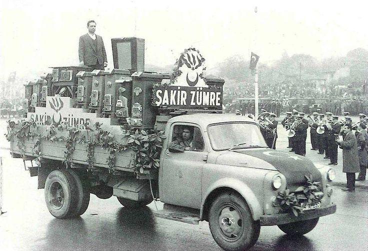 Şakir Zümre sobaları 1950's...