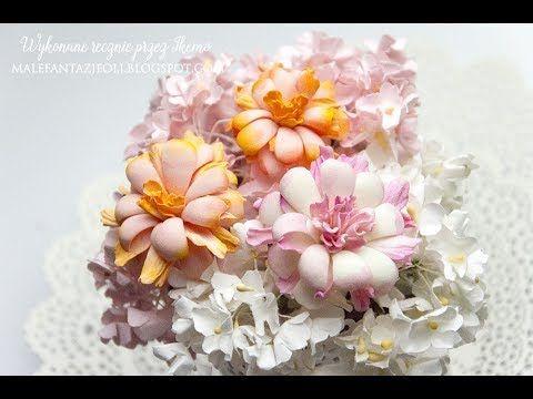 Foamiran flower / Kwiaty z foamiranu
