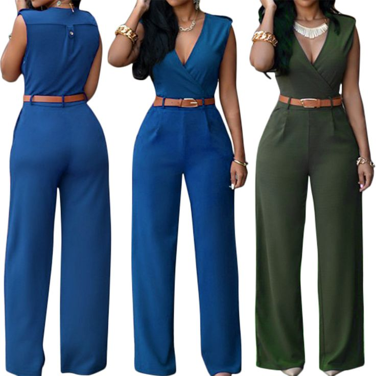ELEGANT FASHION ROMPERS SLEEVELESS DEEP V NECK SEXY CLUB ROMPERS CUT OUT WOMEN JUMPSUIT