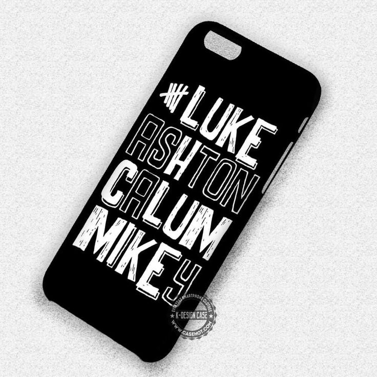 5sos Calm All Personel Name - iPhone 7 6s 5c 4s SE Cases & Covers