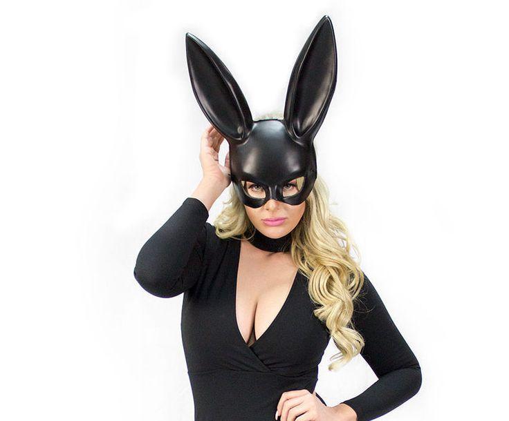 Фото в маске зайца