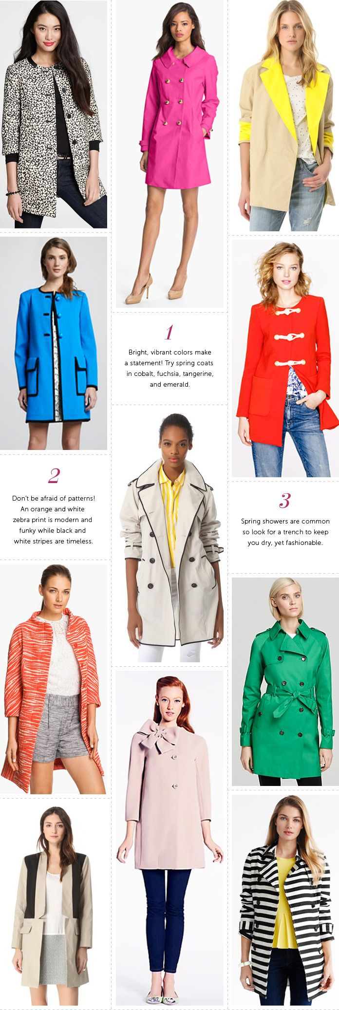 Professionelle: Our Favorite Spring Coats