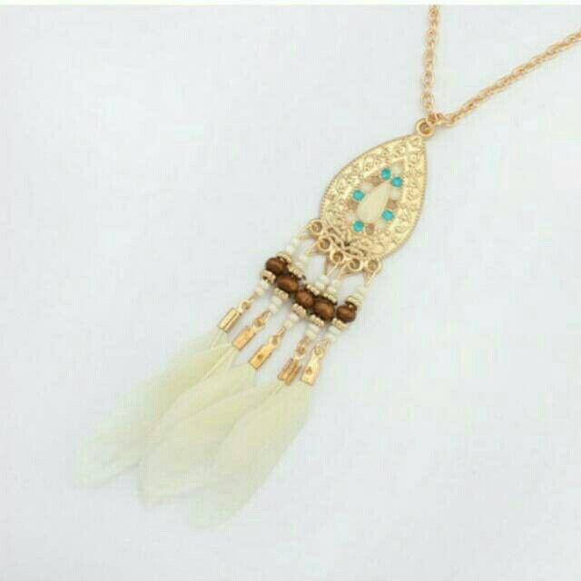 Saya menjual Kalung Fashion Etsy Bohemian feather drop water pendant simple necklace -0AB6C7 seharga Rp23.000. Dapatkan produk ini hanya di Shopee! https://shopee.co.id/deventostore/49065050 #ShopeeID