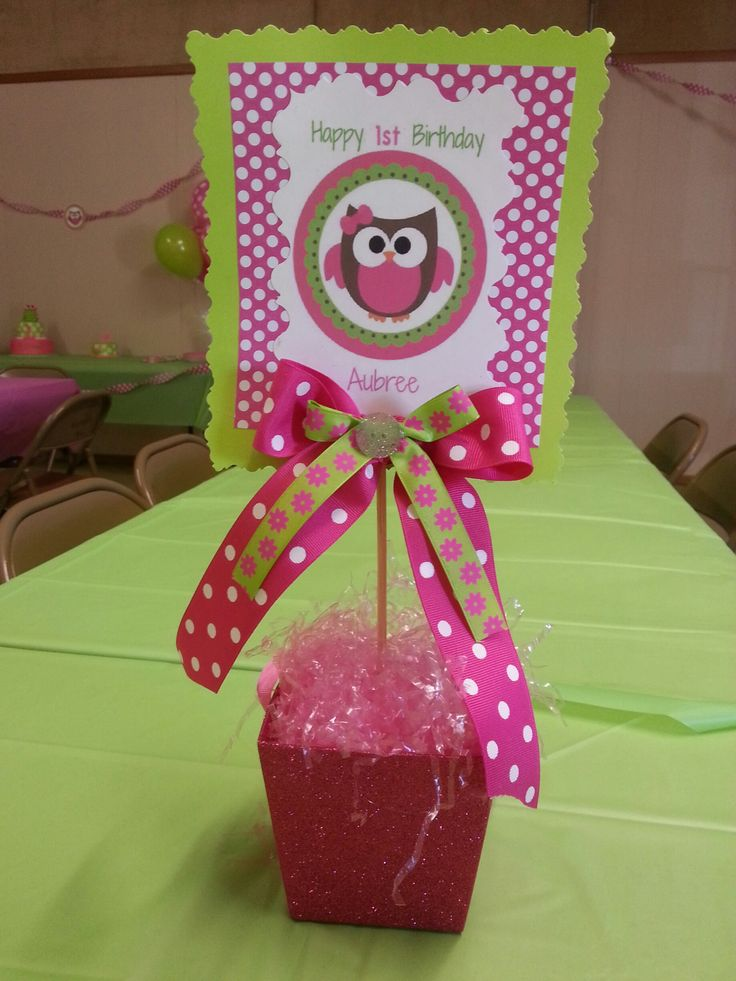1st birthday table decoration owl theme owl birthday for 2nd birthday decoration