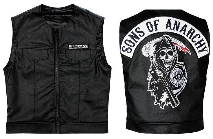 Sons of Anarchy Biker's Faux Leather Vest