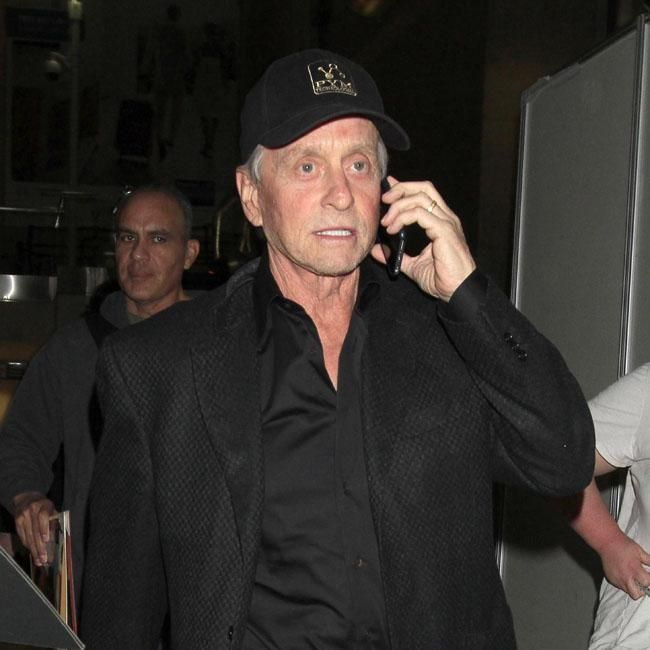 """Michael Douglas initially thought having tongue cancer was a """"death sentence""""."""